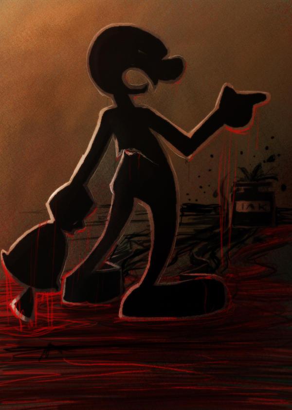 Game Watch's taste of blood by Evanatt
