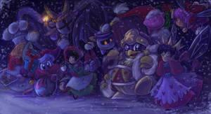 Happy Holidays kirby