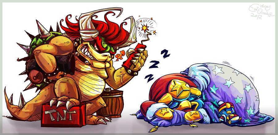 King Gunpowder and King Nap by Evanatt