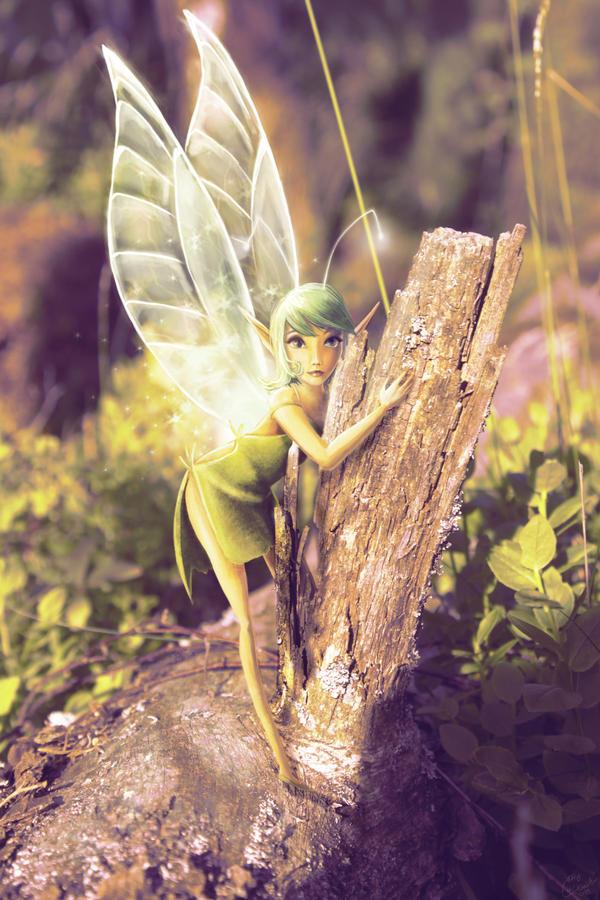 Green fairy by Evanatt
