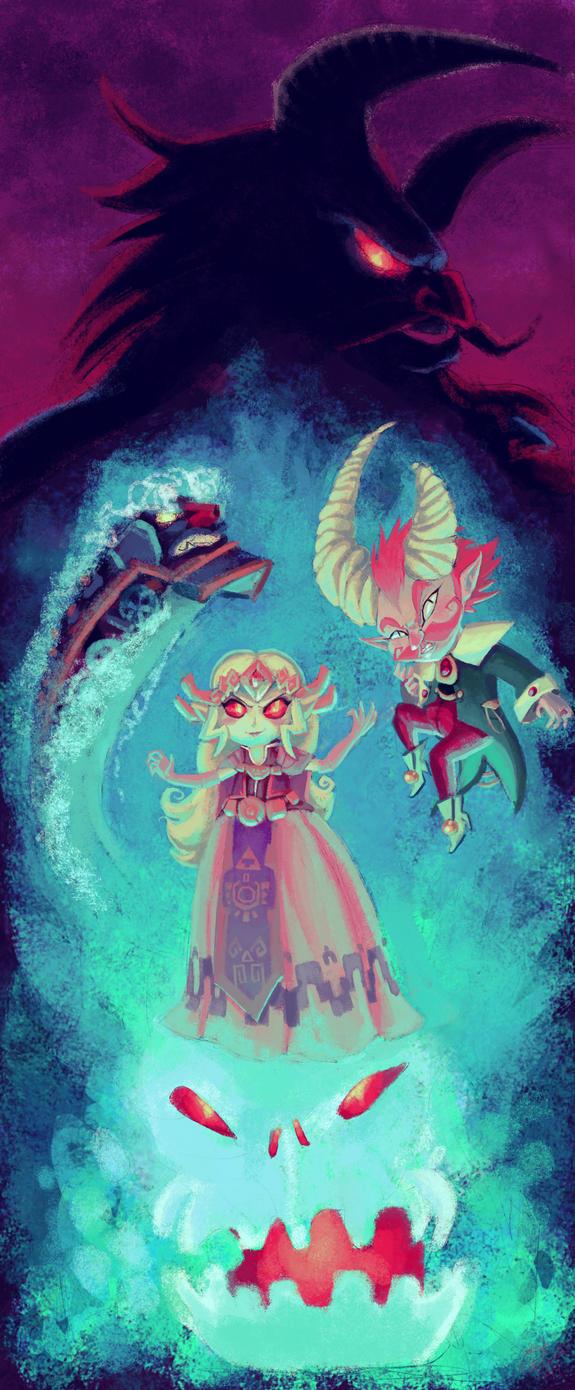 Spirit Track Demons by Evanatt