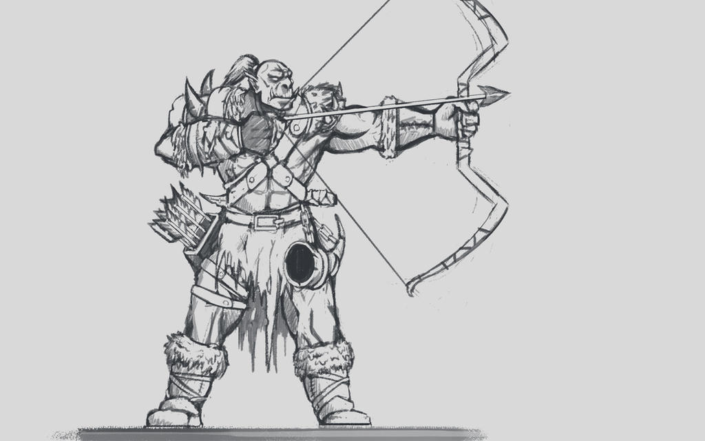 Random orc archer by GeneralBloodrain