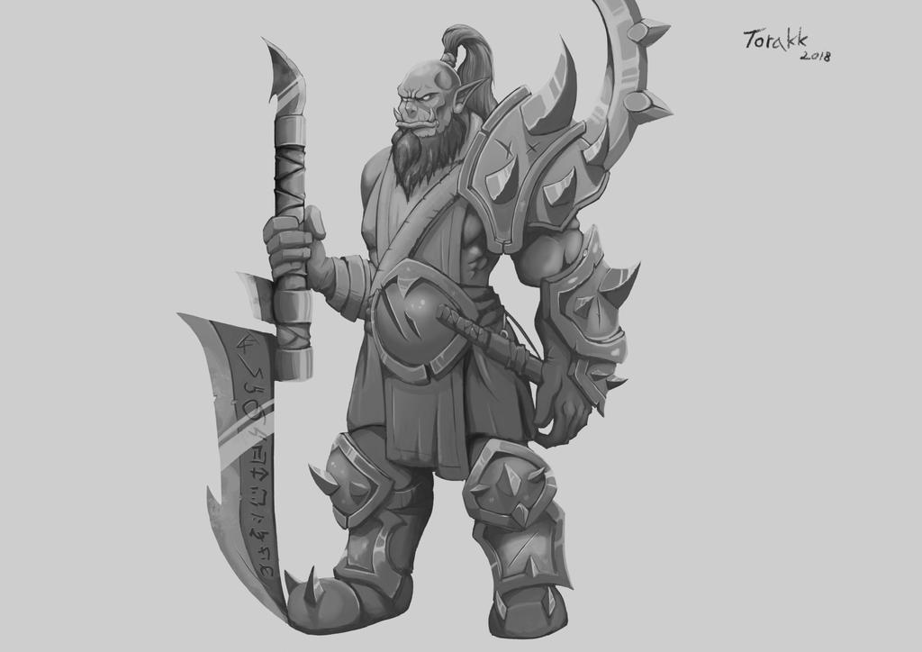 Natsu'gar Darkblade by GeneralBloodrain