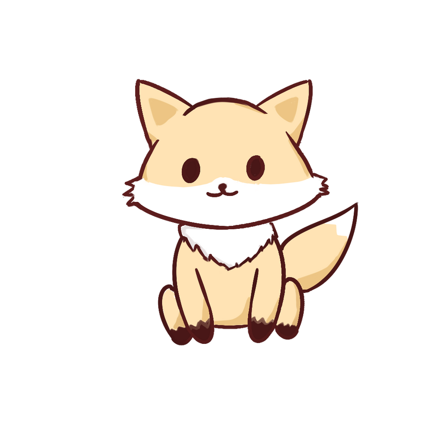 Kawaii Fox By Is This Thing Cursed