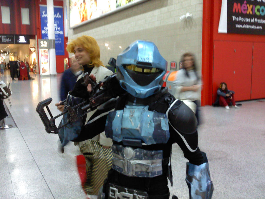 halo ODST dare cosplay by myistic