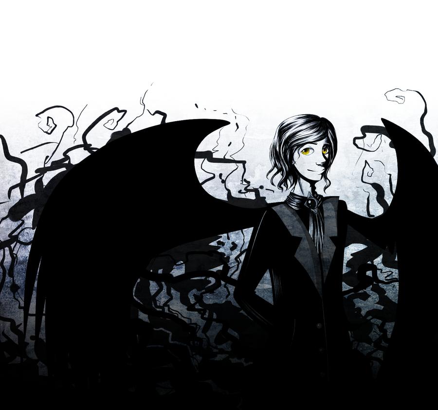 Black black wings by Fetasy