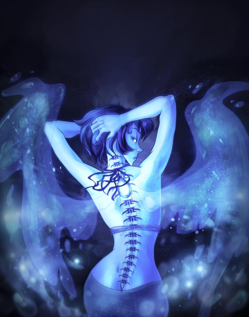 oh she has a backbone by Fetasy
