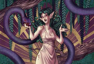 Gorgone [broken telephone game] by Fetasy