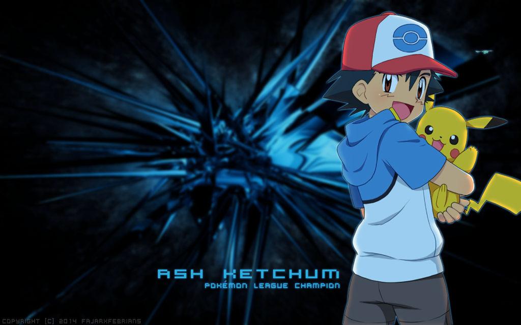 Pokemon Ash Kechum Desktop Wallpaper Hd By