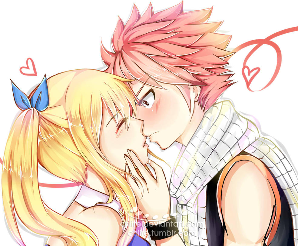 Nalu - Kiss her! by chiire