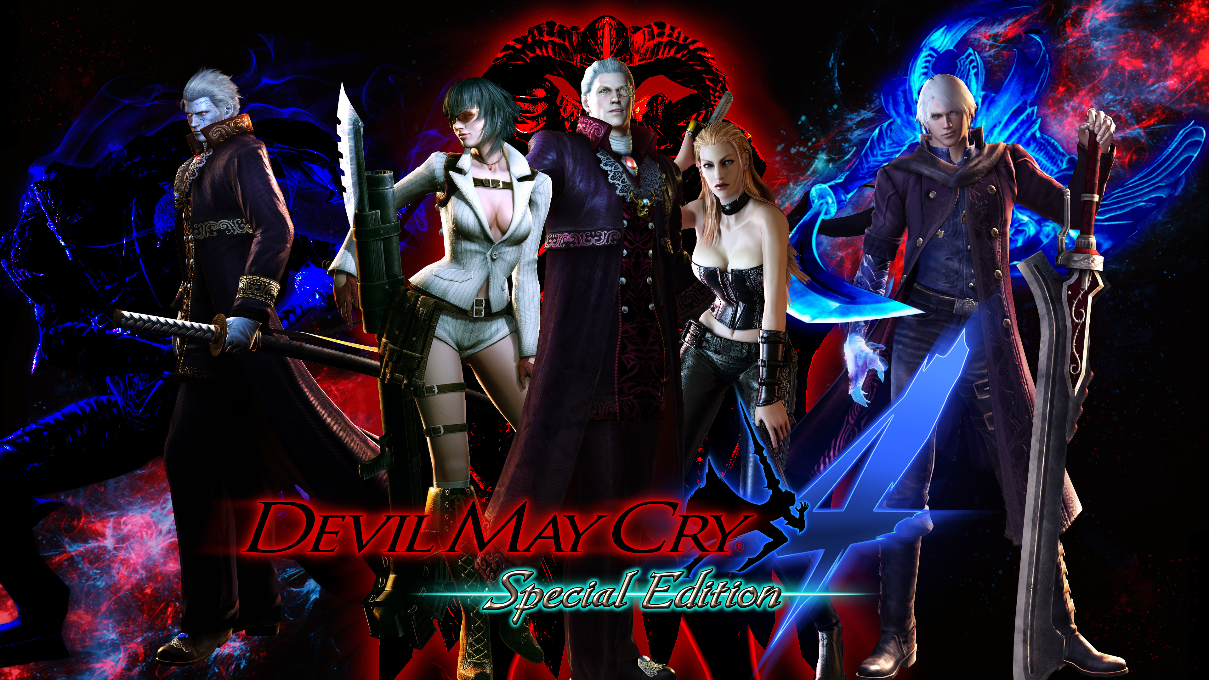 Devil May Cry 4 Special Edition By Demonslayer1337 On Deviantart