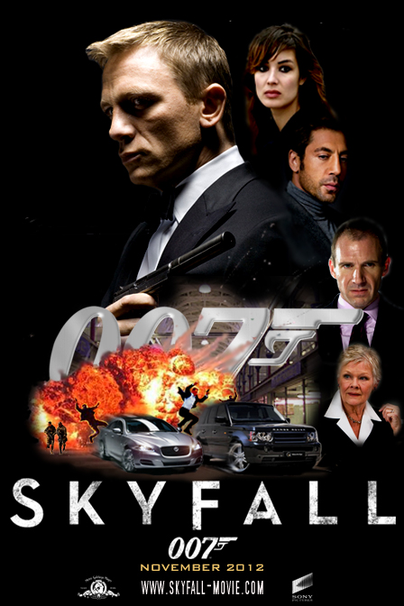 skyfall teaser poster by doghollywood on deviantart