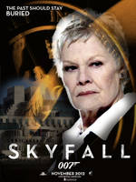 Skyfall Teaser Poster: M - Buried by DogHollywood