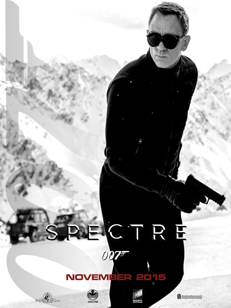 SPECTRE Teaser Poster by DogHollywood