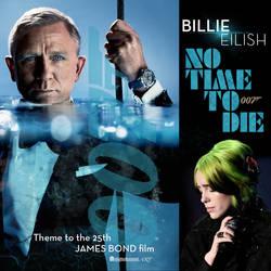 No Time To Die - Single Art - Billie Eilish V2