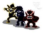 Monstertober Day 27 - Imp [+Sad...+Glad, +Mad] by kentaurosman