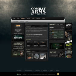 Edited Combat Arms Template by Lenike-UK