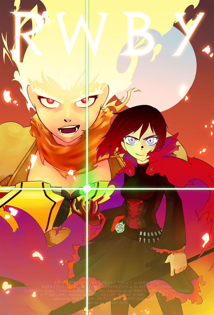 RWBY - Sisters poster by JohnnyAngelMX on DeviantArt