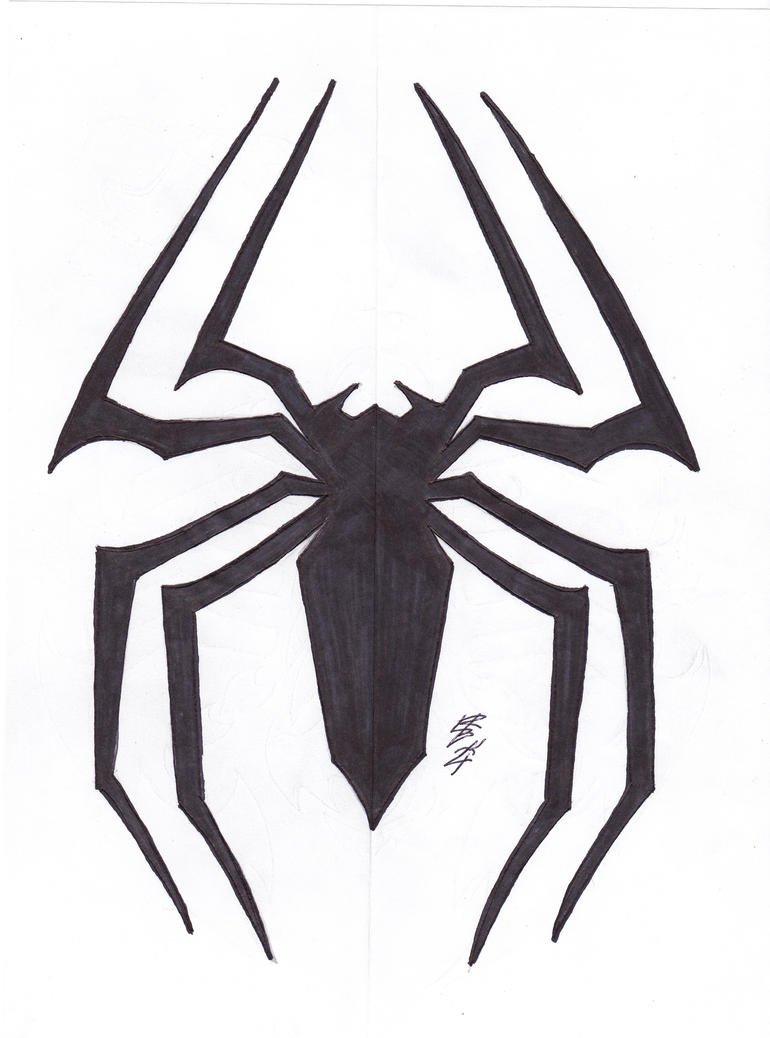 Spiderman venom symbol