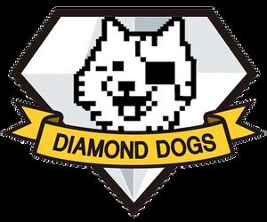 Happy Diamond Dogs Magnet