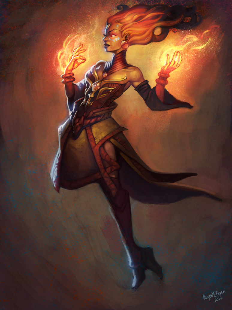 Lina tha Arcana mode on by MugenMcFugen