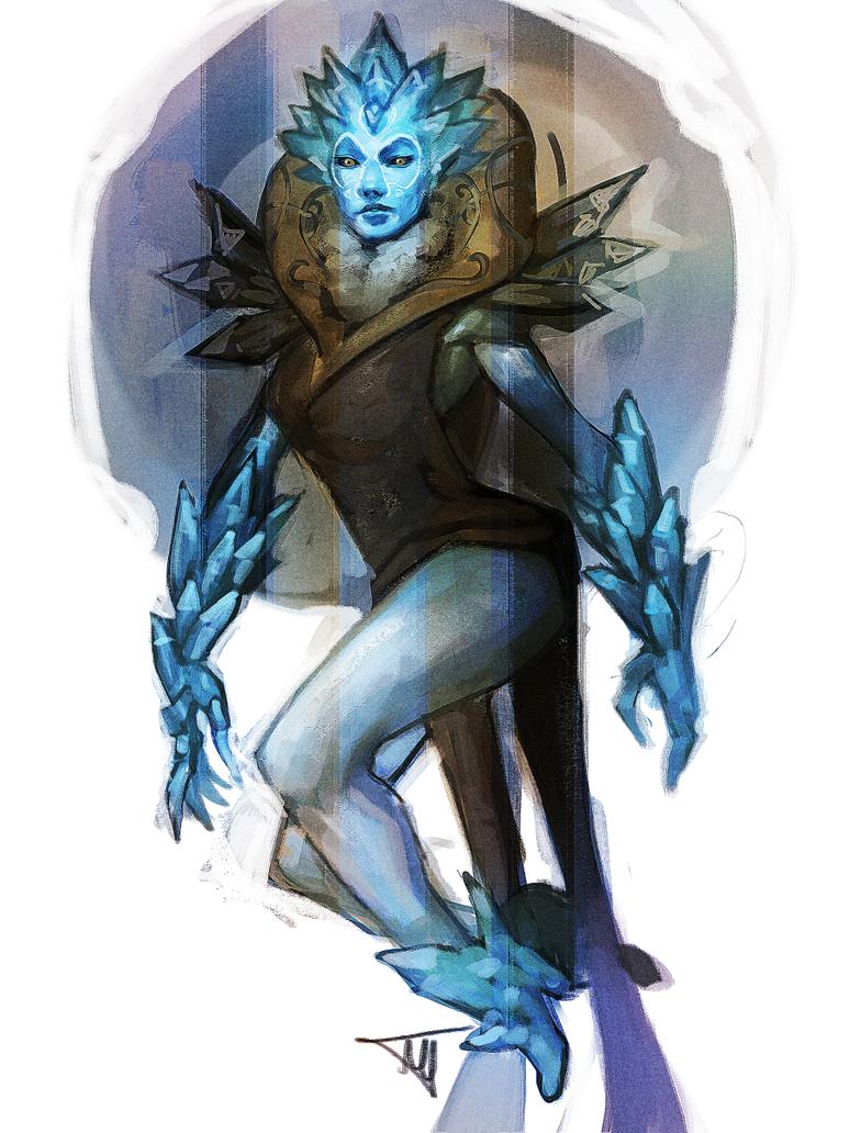 Crystal Maiden Alpha edition by MugenMcFugen