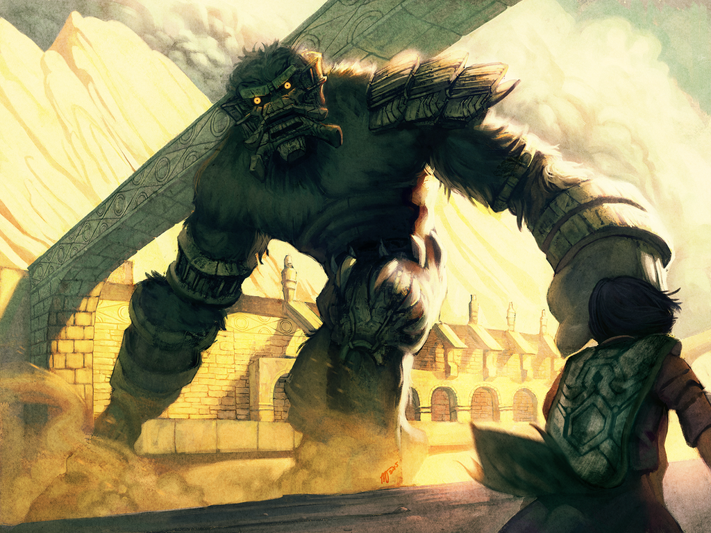 Shadow of the Colossus by MugenMcFugen on DeviantArt