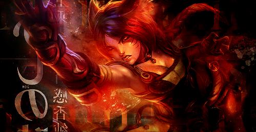 Ahri League of Legends by munnieofgod