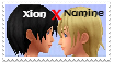 Xion x Namine Stamp by sohearmyvoice