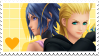Unpopular KH ships stamp series- LarQua by sohearmyvoice