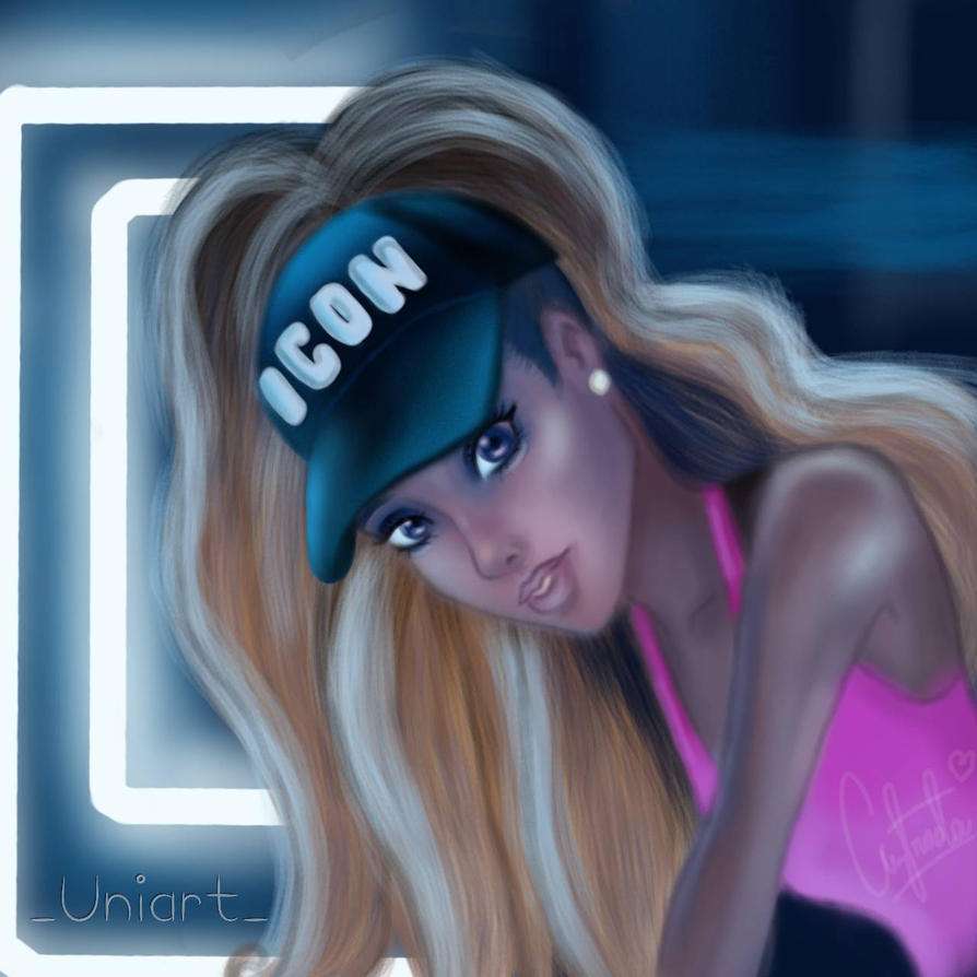 Ariana Grande Side To By Uniart1615