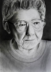 Old Lady in PENCIL Finished by slippy88
