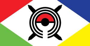 Pokemon Kanto Region Flag
