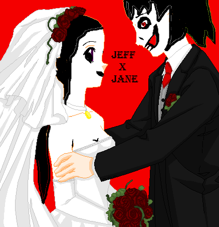 Jeff The Killer X Jane KillerWedding By TheSubject115FT