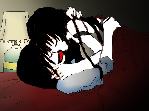 Jeff The Killer x Jane The Killer~Wedding Night by TheSubject115FT