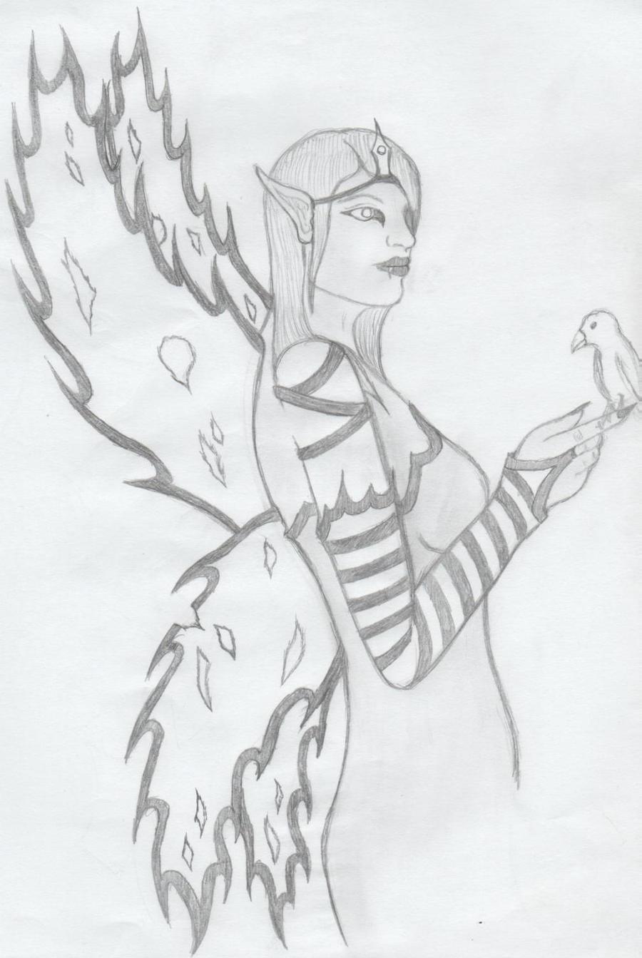 Evil Fairy by JeffJordan13 on deviantART