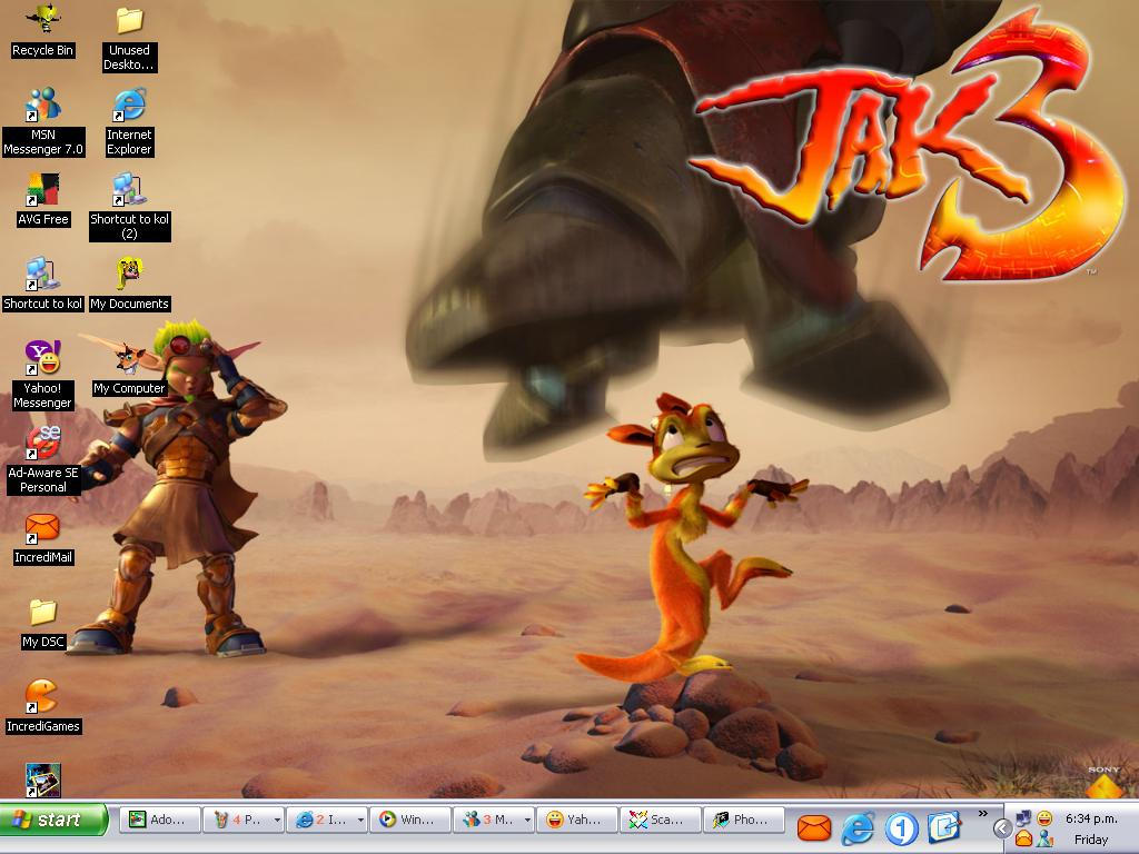 Download Jak Daxter Wallpapers: Jak3 Wallpaper-Poor Daxter By ASHnCRASH On DeviantArt