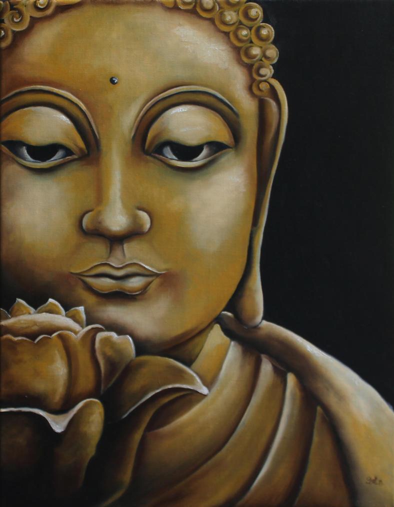 Gautama Buddha by dzaet