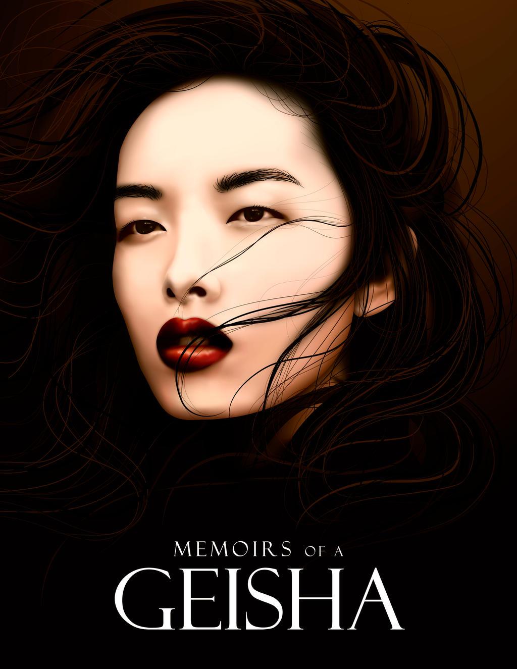 Vectorial Geisha by Man9u