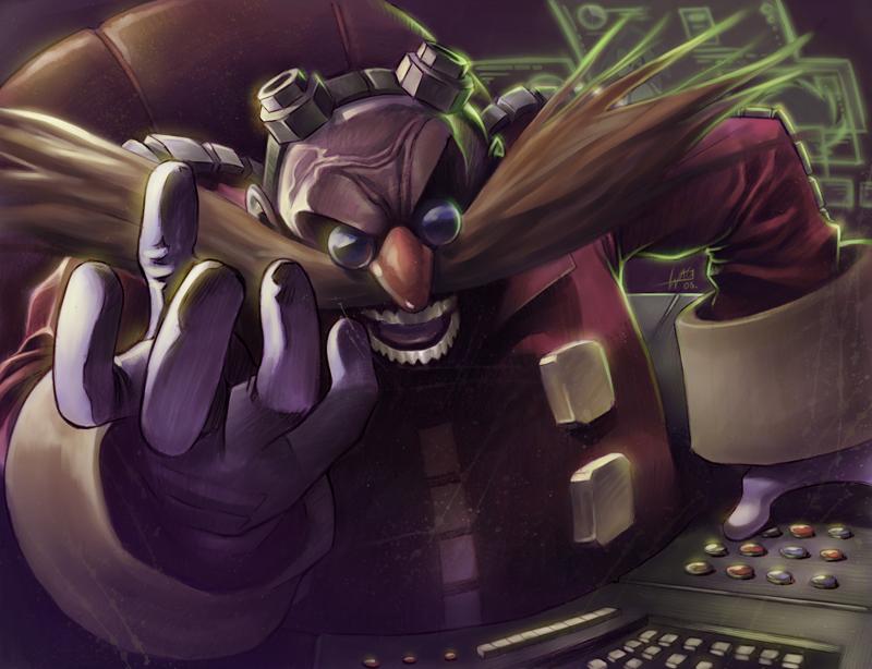 Dr. Eggman by Wilustra