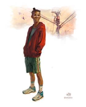 The Samurai teen