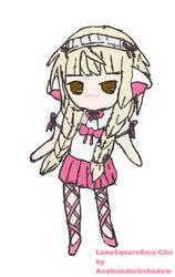 LunaSquareEnix@gaiaonline Chii cosplay blush