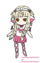 LunaSquareEnix@gaiaonline Chii cosplay avatar art