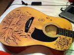 My baby's guitar