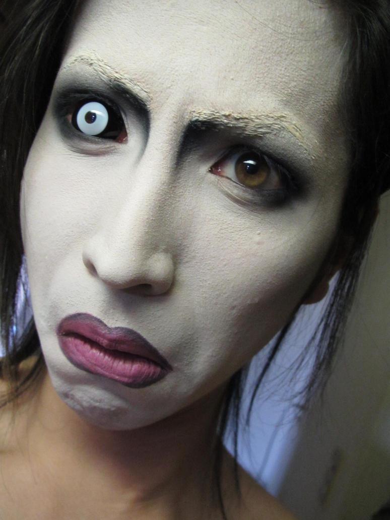 Мэрилин мэнсон о своем макияже