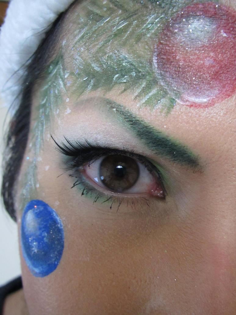 - CHRISTMAS TREE - Makeup by KisaMake on DeviantArt