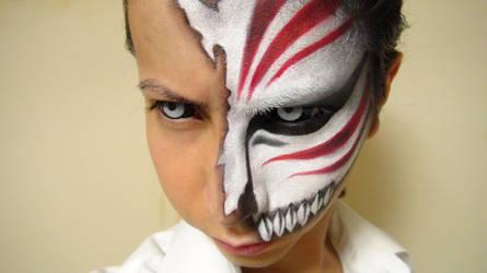 - ICHIGO HOLLOW - Makeup by KisaMake