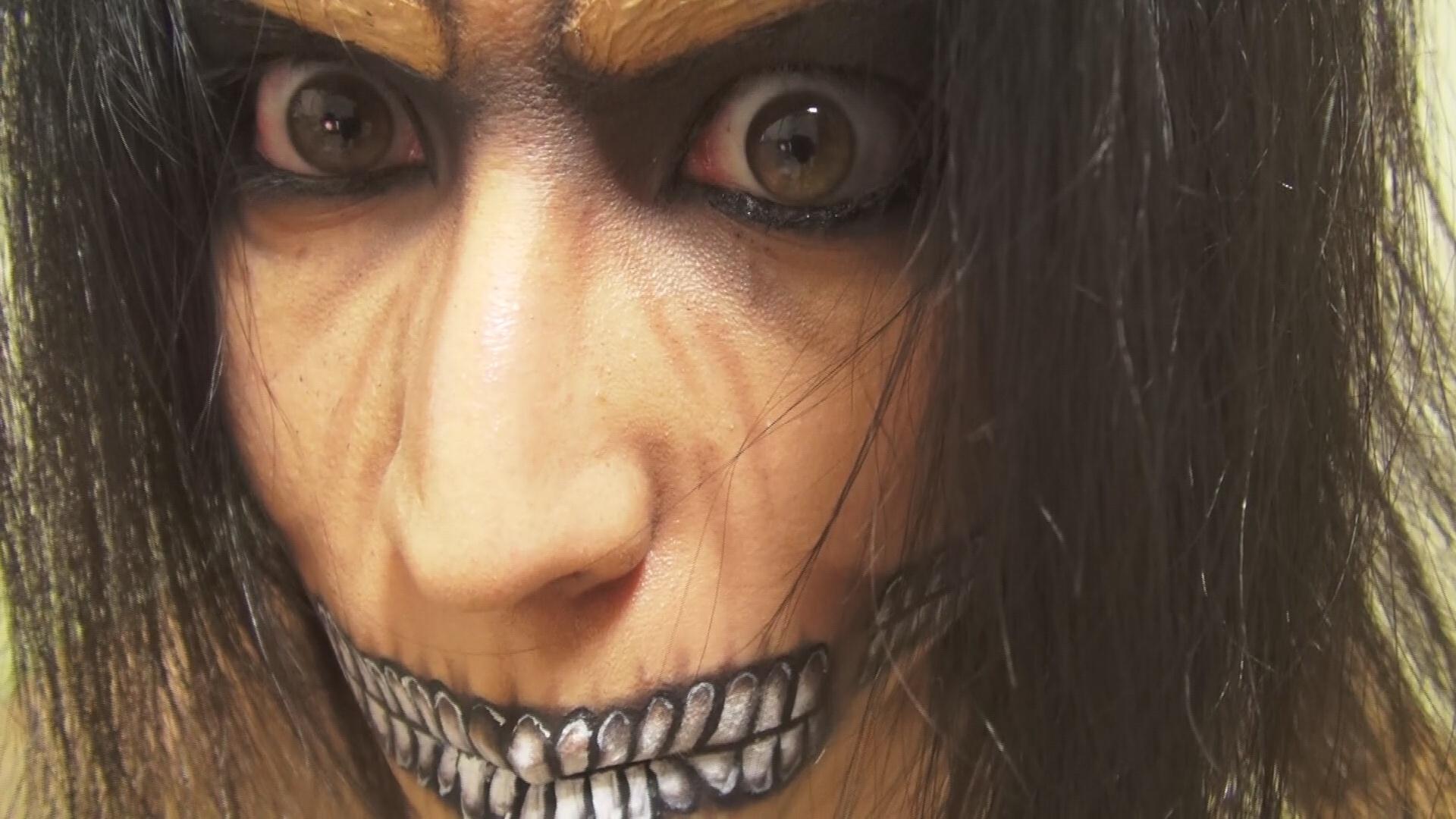 - Eren Titan Form - Makeup by KisaMake on DeviantArt