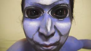 - Ao Oni - Makeup