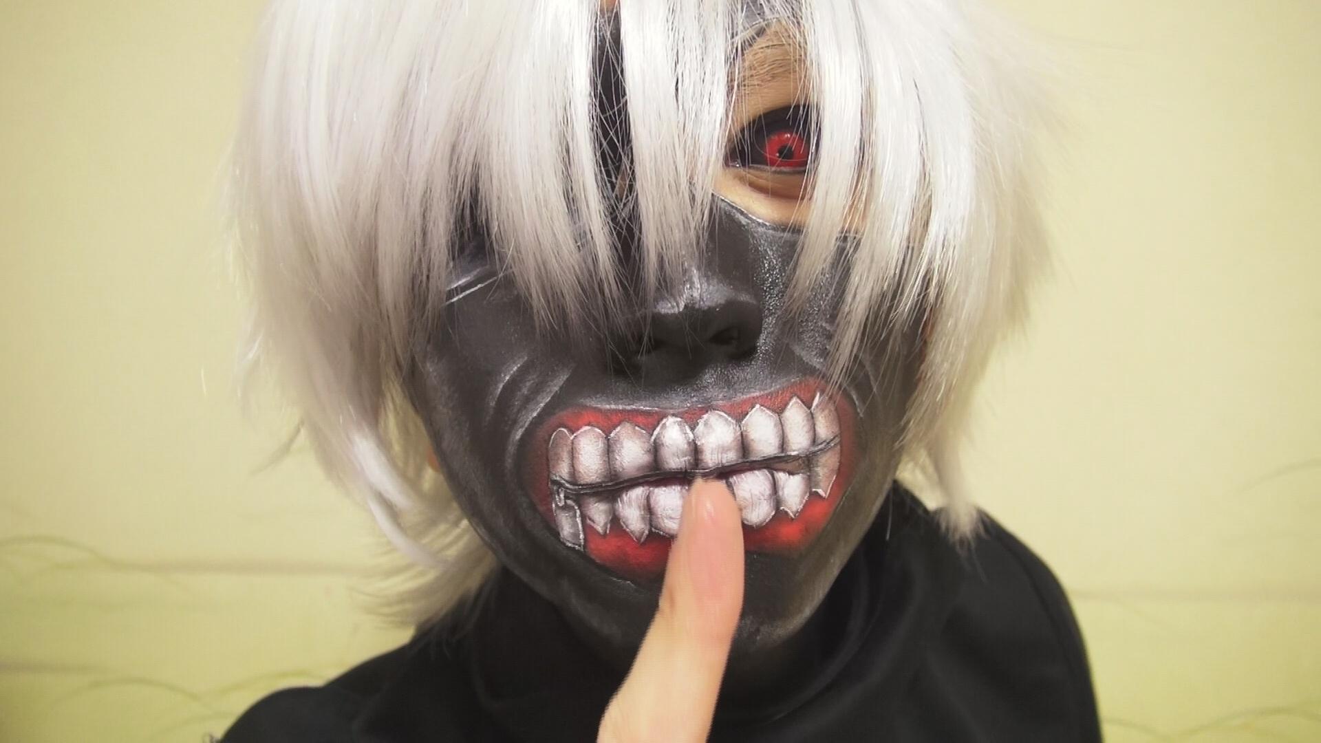 - Ken Kaneki - Makeup by KisaMake